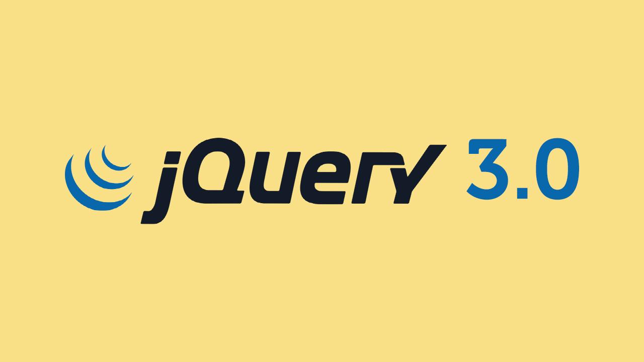 jQuery 3.0