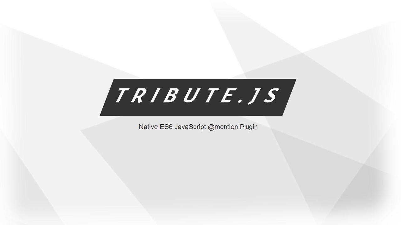 Tribute Js