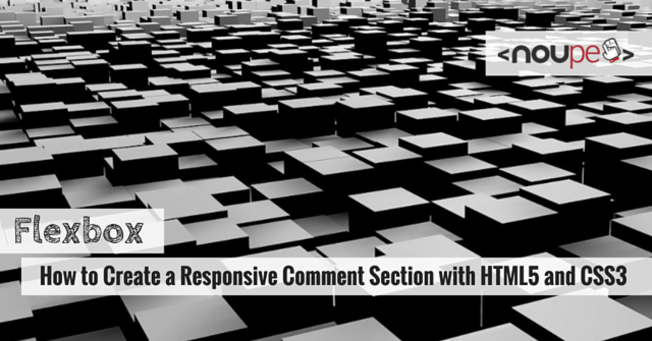 Flexbox for Comments Section