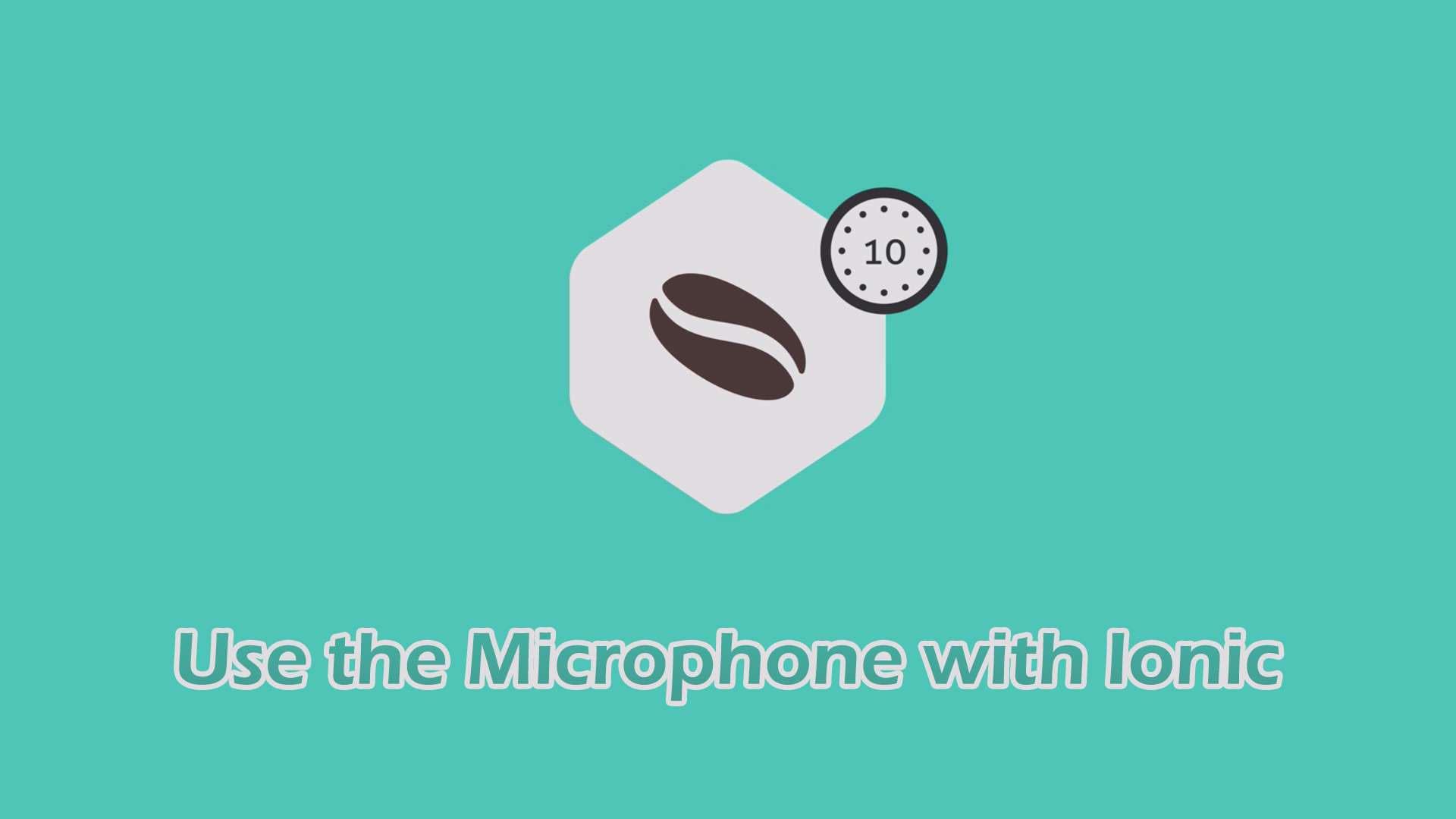 Use the Microphone with Ionic