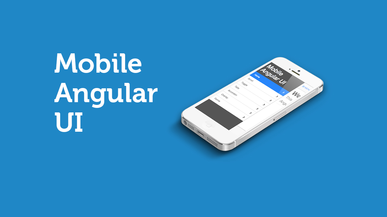 Mobile User Interface for Angular.js
