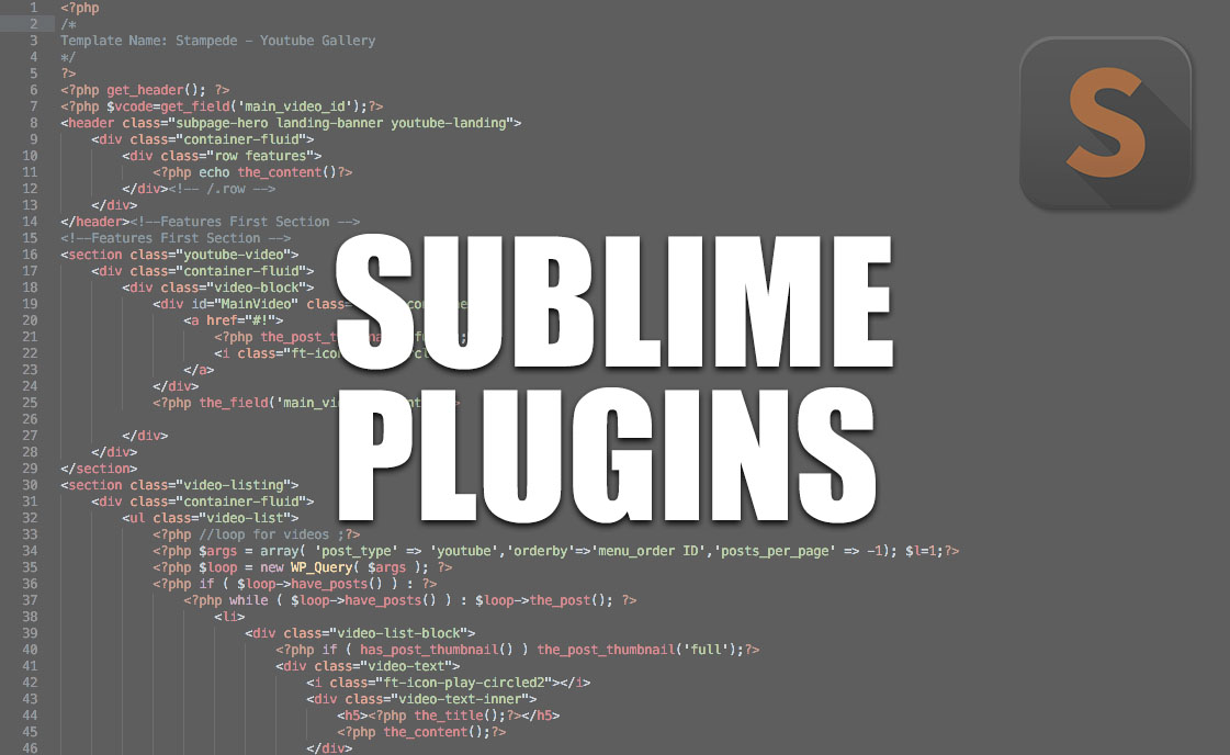 Sublime Text Plugins That We Use